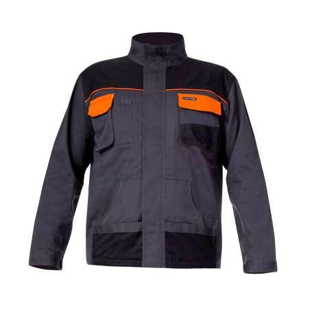 Bluza grafitowo-pomarańczowa 190gm2 Lahti Pro L40404