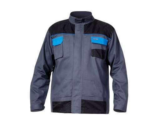 Bluza szaro-niebieska bawełna 190g Lahti Pro L40405