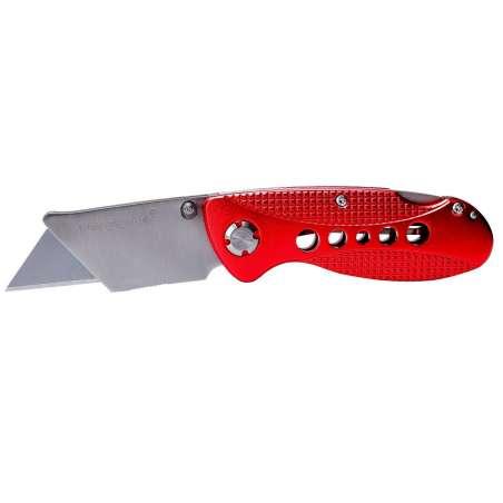 Nóż składany z ostrzem trapezowym 16cm Proline 30030