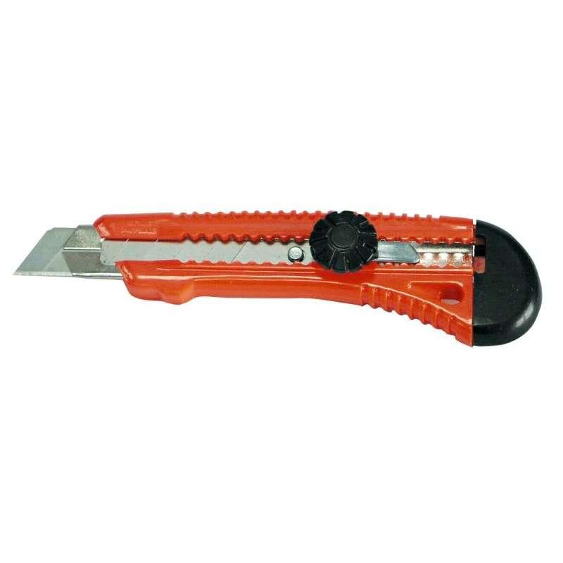 nóż z ostrzem łamanym 18mm metalowa prowadnica mega 30058