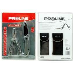 zestaw szczypce wielofunkcyjne + nóż składany uniwersalny 15cm proline 30060