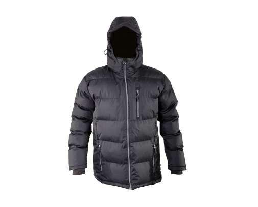 Zimowa kurtka pikowana czarna Lahti Pro L40908