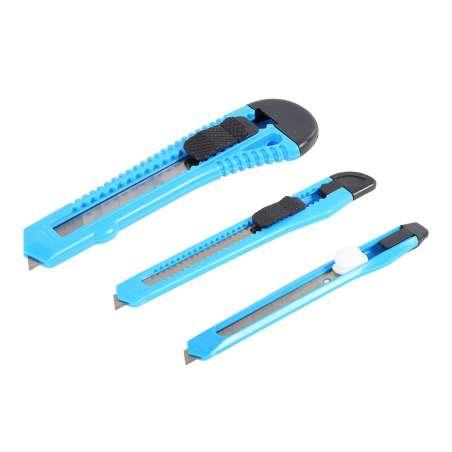 Nożyki do tapet zestaw 3el. Mega 30203
