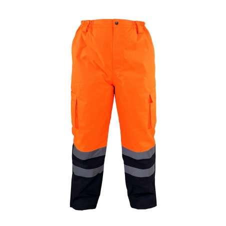 Zimowe spodnie ostrzegawcze pomarańczowe Lahti Pro L41001