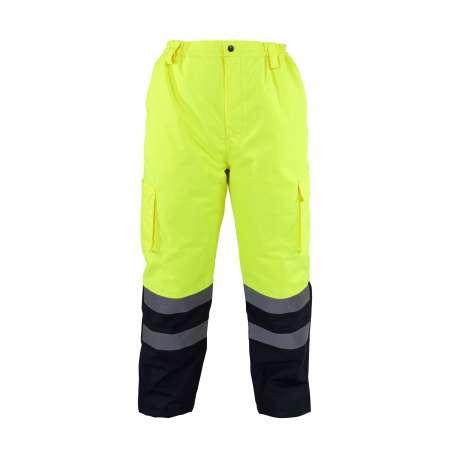 Zimowe spodnie ostrzegawcze żółte Lahti Pro L41002