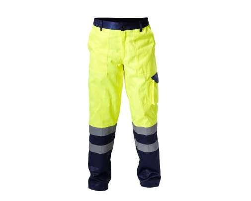 Spodnie ostrzegawcze żółte LahtiPro L41004