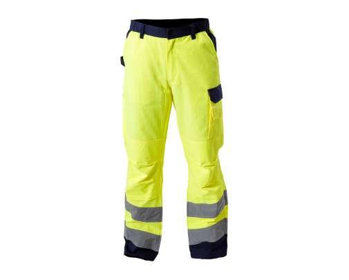 Spodnie ostrzegawcze żółte Lahti Pro L41006