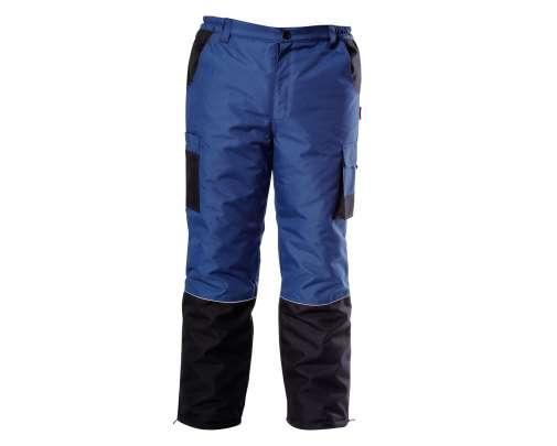 Spodnie ocieplane niebieskie Lahti Pro L41007