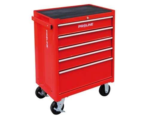 wózek warsztatowy 5szuflad 69x46x73cm proline 33105