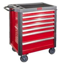 wózek warsztatowy 7szuflad wyposażenie 211el. proline 33115