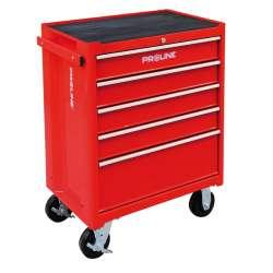 wózek warsztatowy 5szuflad wyposażenie 193el proline 33116