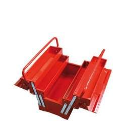 skrzynka narzędziowa metalowa 5el. 40cm proline 33405