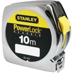 miara 10m/25mm powerlock obudowa plastikowa stanley 33-442