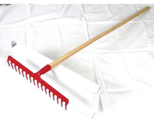 Grabie 12-zębne nit trzon 130cm  12385