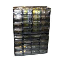 organizer małe szufladki 32szt 32x22x7cm profix 35221