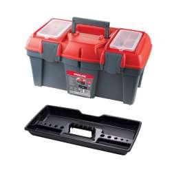 skrzynka narzędziowa z klamrami plast. 22 cali 550x267x270 proline 35739