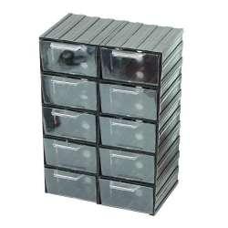 szafki szufladkowe 10szt 21x30x12cm profix 35802