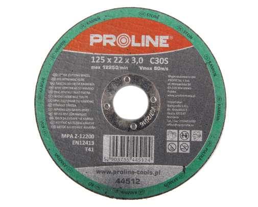 Tarcza do cięcia kamienia 125x3.0mm Proline