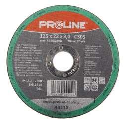 Tarcza do cięcia kamienia 125x3,0mm Proline 44512