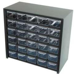 szafki szufladkowe 31x28x15cm 30szt obudowa metal