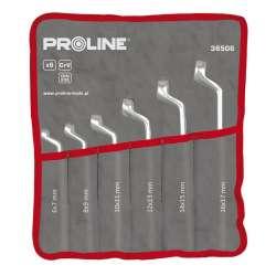 zestaw kluczy oczkowych odgiętych crv 12el. proline 36512