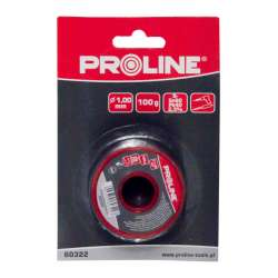 Spoiwo lutownicze do lutowania 0,56mm szpula 100g blister Proline 60320