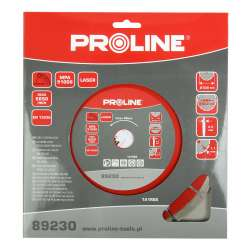 Tarcza diamentowa segmentowa Laser 230x2,5x22mm Proline 89230