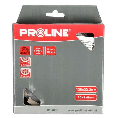Tarcza diamentowa segmentowa do szlifowania 125mm Proline