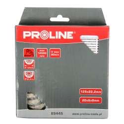 Tarcza diamentowa do szlifowania turbo 125mm Proline 89445