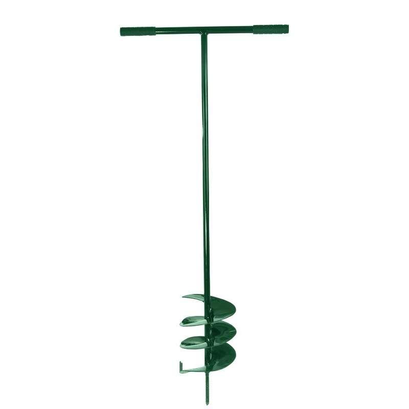 świder 170mm zielony rączki ergonomiczne plastikowe