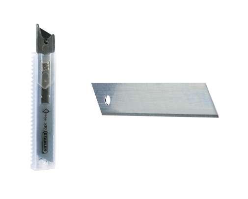 Ostrza wymienne do nożyków - 18mm łamane 100 sztuk Stanley 113011