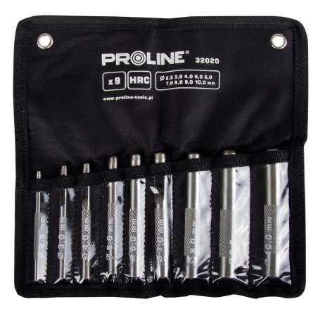 Przebijaki do skóry 20-22mm zestaw 15 elementów Proline 32021