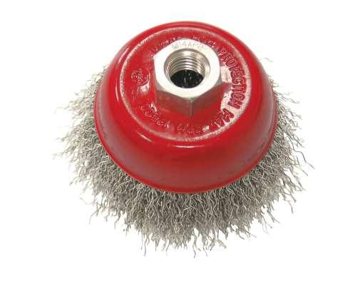 Szczotka doczołowa z drutu falowanego M14 100mm Proline 32510