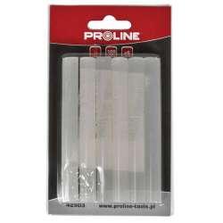 Klej termotopliwy bezbarwny 11mm L:200mm opk:12szt Proline 42902