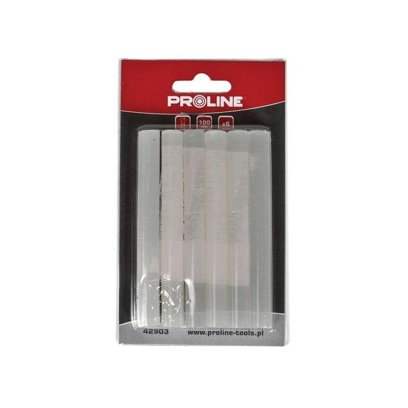 klej w laskach 11mm l:100mm 6szt proline 42903