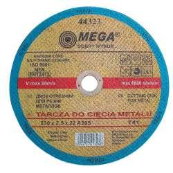 tarcza do cię˜cia metalu t41 115x2.5x22 a30s mega