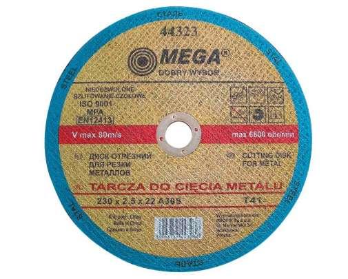 tarcza do cię˜cia metalu t41 125x2.5x22a30s mega
