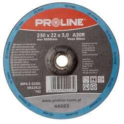 Tarcza do cięcia metali wypukła 125x25mm Proline 44212