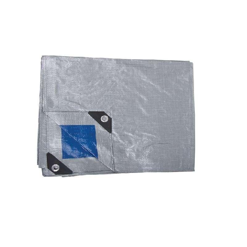 plandeka ochronna wytrzymała 110g/m2 5x8m proline 46458