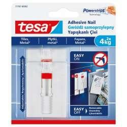Regulowane gwoździe samoprzylepne do płytek 4kg + 6 plastrów Tesa H7776702