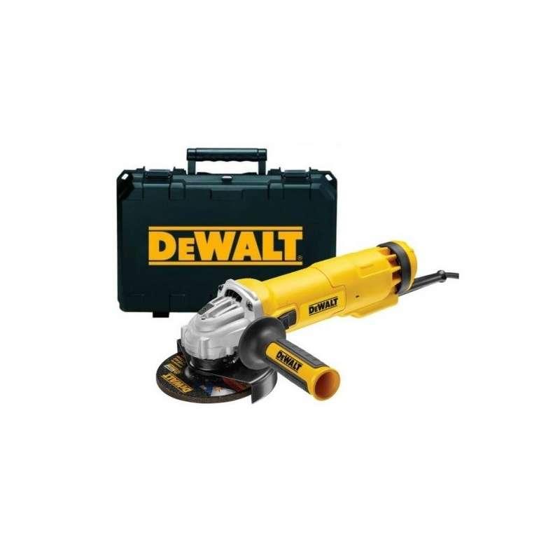 Szlifierka kątowa 125mm 1200W suwak NO-V kufer dwie tarcze (DWE4217KD) DeWalt DWE4217K
