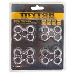 Zestaw szlifujący rolki P120180220240 do TFW150K - 20 elementów Tryton EATFW04