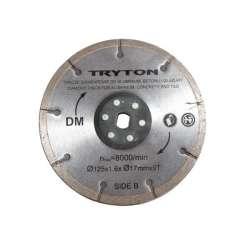 tarcza diamentowa 125 mm do pilarki dwutarczowej tpd860k tryton eatpd02