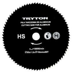 Zestaw tarcz HSS do przecinarki Tryton TPW600K 3 sztuki do cięcia metali kolorowych Tryton EATPW05