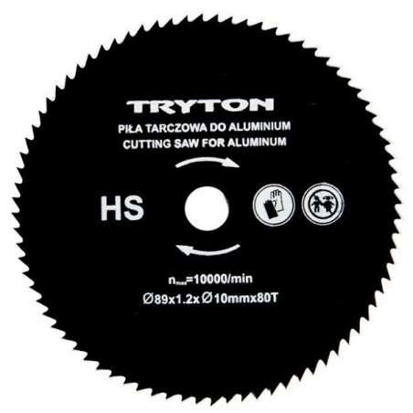 Zestaw tarcz HSS do przecinarki Tryton TPW600K 3szt. do cięcia metali kolorowych