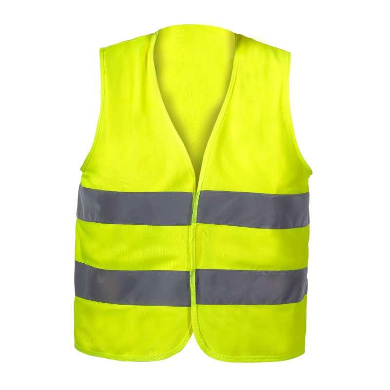 Kamizelka ostrzegawcza żółta dla dzieci 7-9 lat M CE LahtiPro L4130102