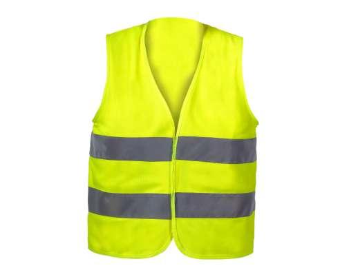 Kamizelka ostrzegawcza żółta dla dzieci 10-12 lat L CE LahtiPro L4130103