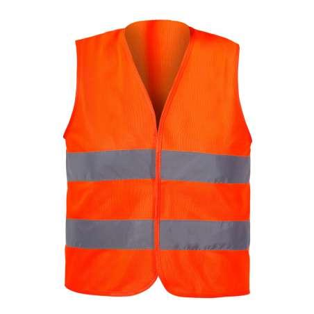 Kamizelka ostrzegawcza pomarańczowa dla dzieci 7-9 lat M CE LahtiPro L4130202