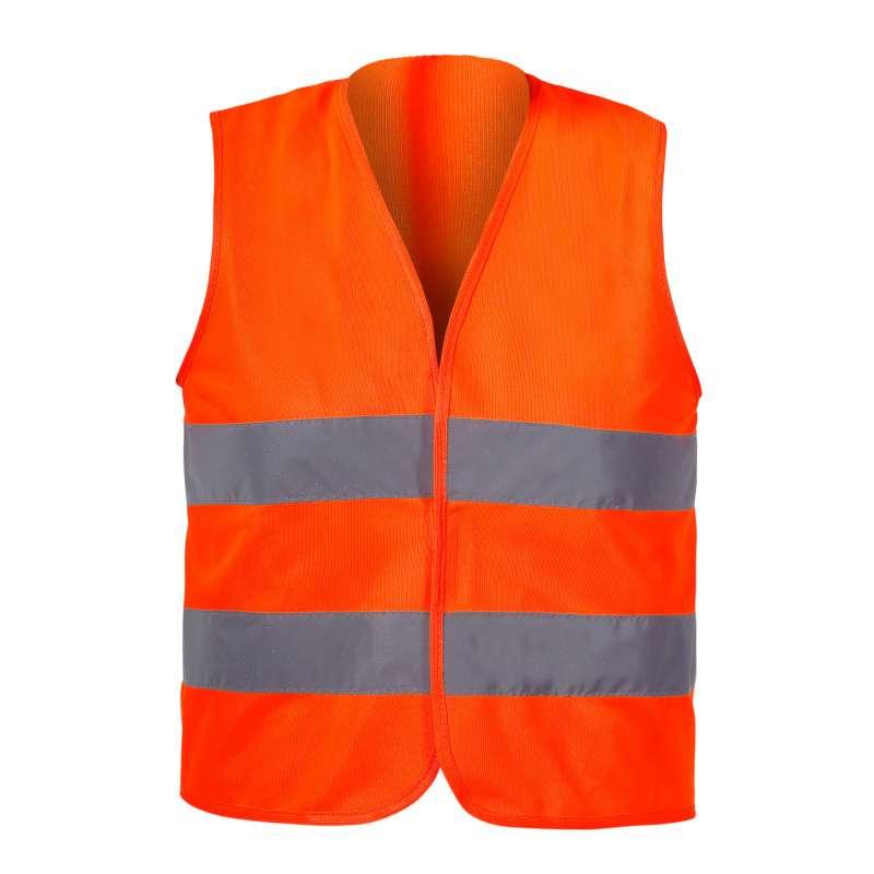 Kamizelka ostrzegawcza pomarańczowa dla dzieci 10-12 lat  L CE LahtiPro L4130203