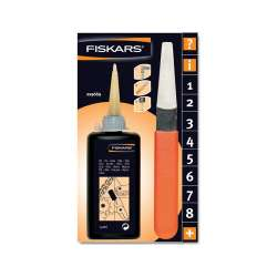 Oliwka i pilnik do konserwacji sekatorów Fiskars FS110990